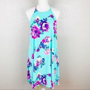 Every Floral Swing Dress Large